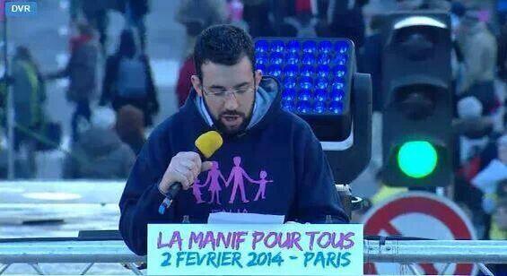 Jacopo Coghe - Parigi 2 Febbraio 2014