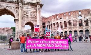 La Manif Pour Tous Italia al Colosseo
